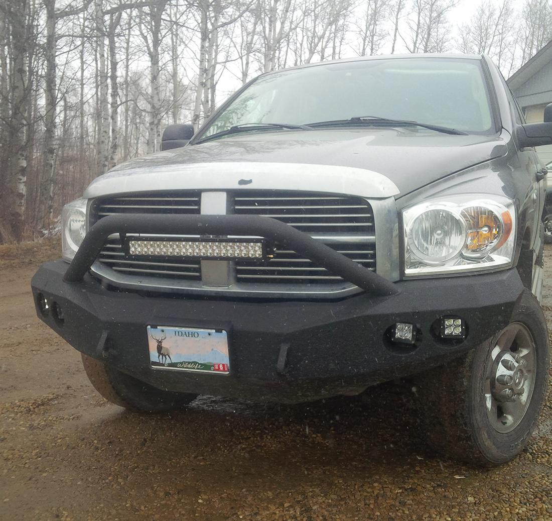 Dodge Badass Prerunner Winch Bumper