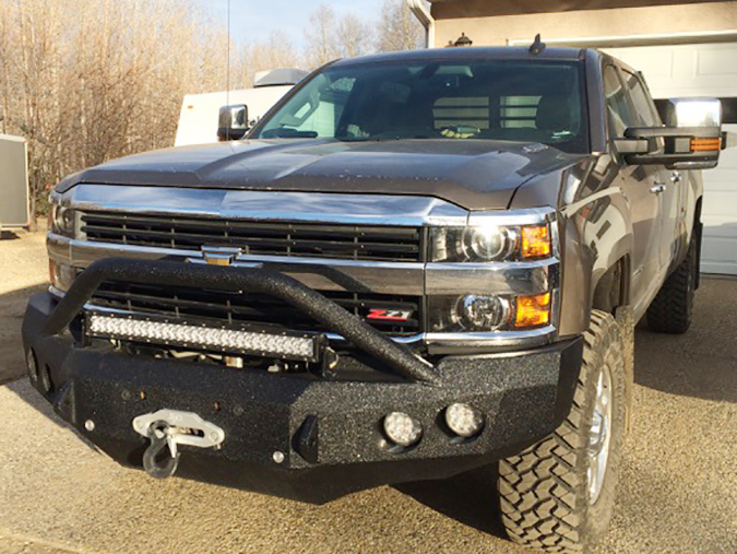 Chevy Custom Winch Bumpers -Bad Ass Custom Bumpers